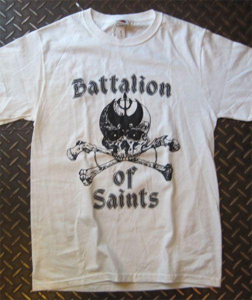 BATTALION OF SAINTS Tシャツ SKULL