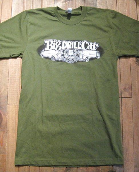 BIG DRILL CAR Tシャツ