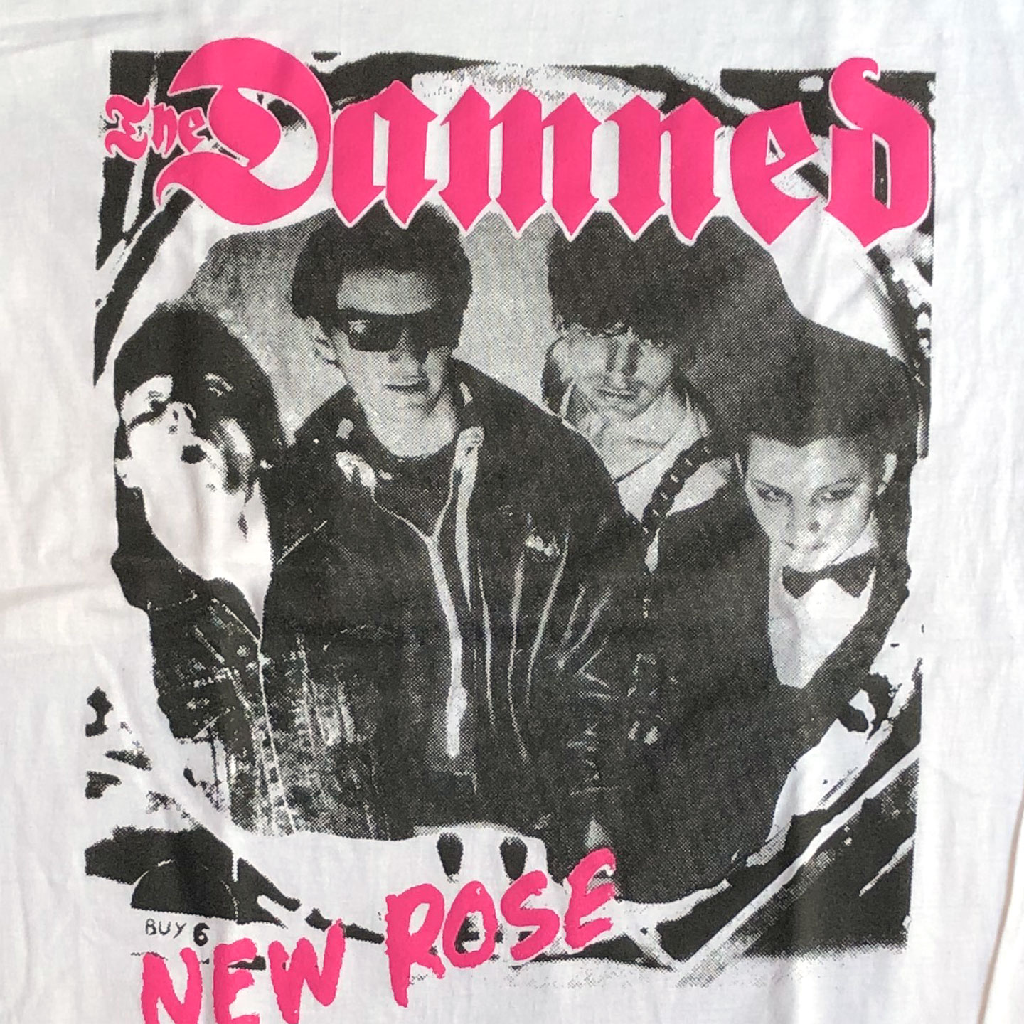 THE DAMNED Tシャツ NEW ROSE