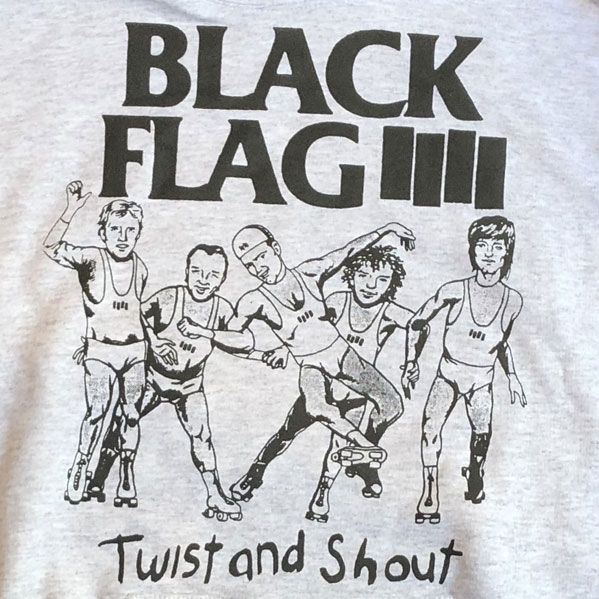 BLACK FLAG パーカー TWIST AND SHOUT
