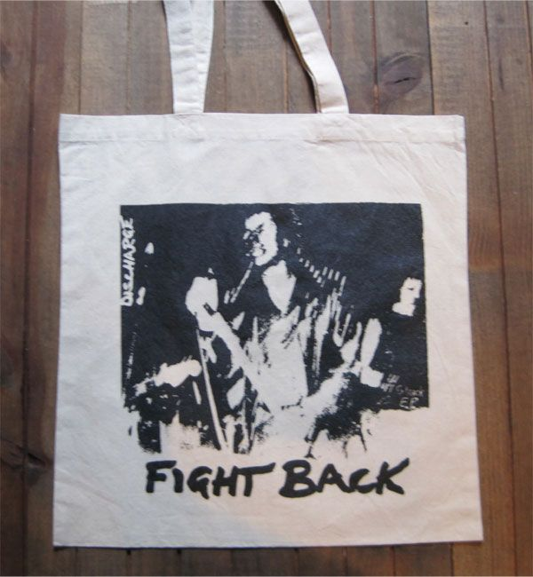 DISCHARGE TOTEBAG FIGHTBACK