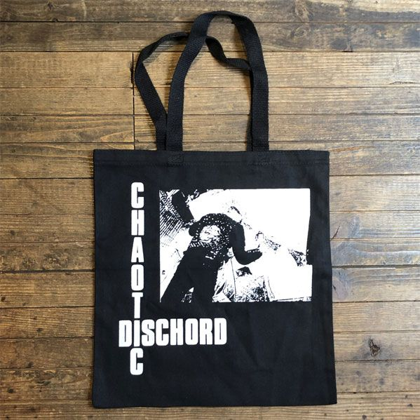 CHAOTIC DISCHORD TOTE BAG