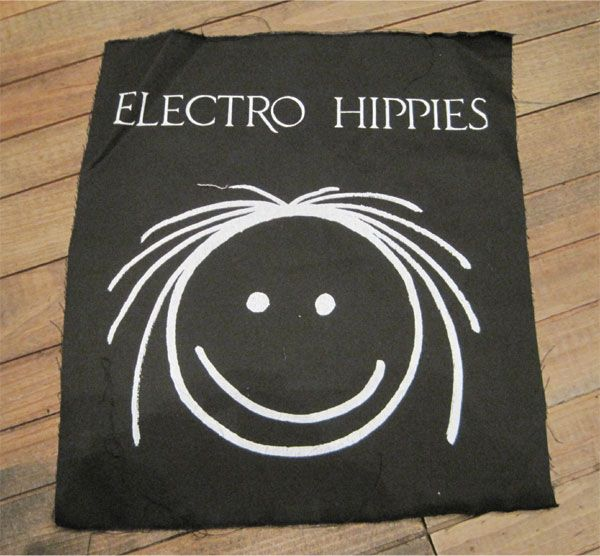 ELECTRO HIPPIES BACKPATCH NICO