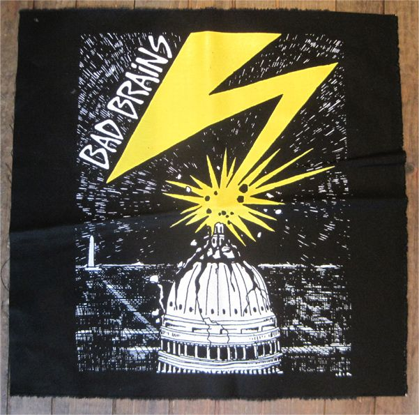 BAD BRAINS BACKPATCH CAPITAL