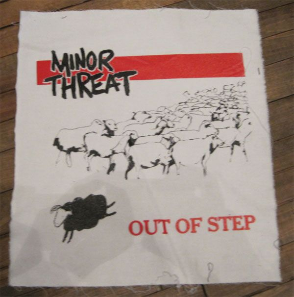 MINOR THREAT BACKPATCH OUT OF STEP