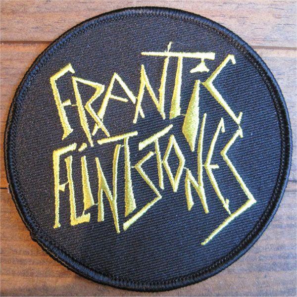 FRANTIC FLINTSTONES 刺繍ワッペン 2