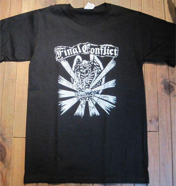 FINAL CONFLICT Tシャツ SKULL