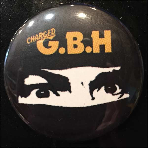G.B.H バッジ MIDNIGHT MADNESS