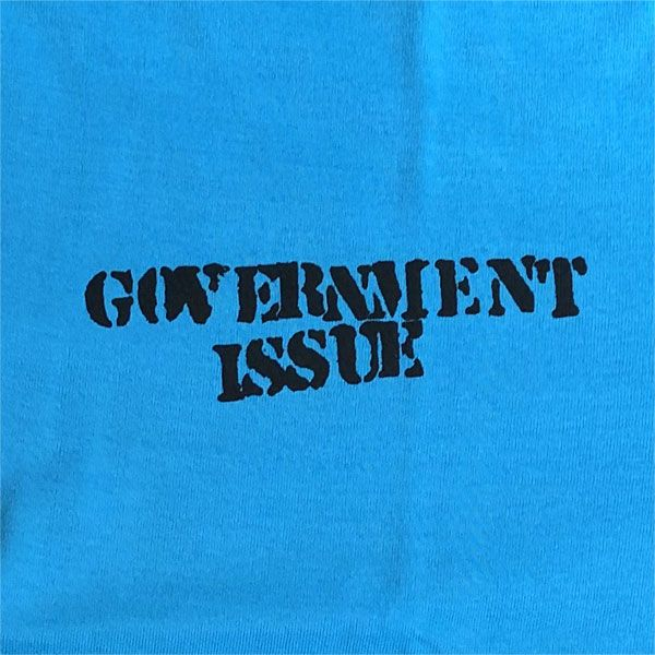 GOVERNMENT ISSUE Tシャツ ONE POINT & BACK