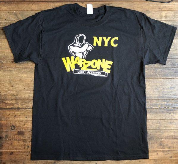 WARZONE Tシャツ NEW YORK CITY オフィシャル