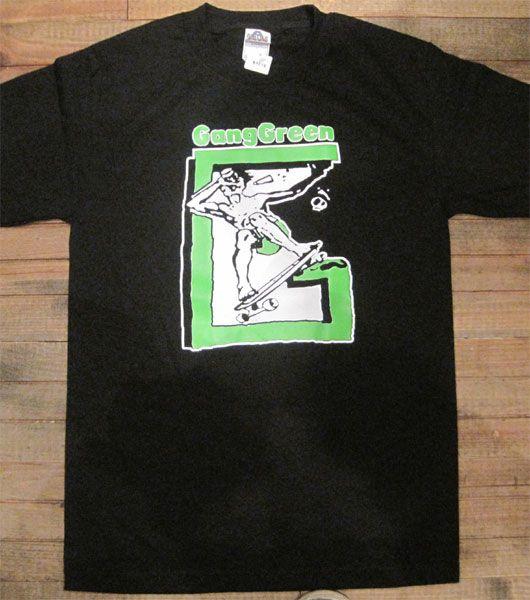 GANG GREEN Tシャツ SKATE オフィシャル