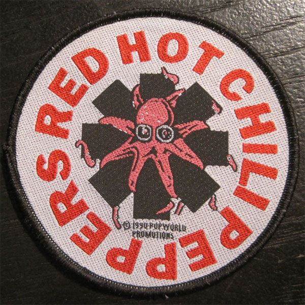 RED HOT CHILI PEPPERS VINTAGE刺繍ワッペン OCTOPUS