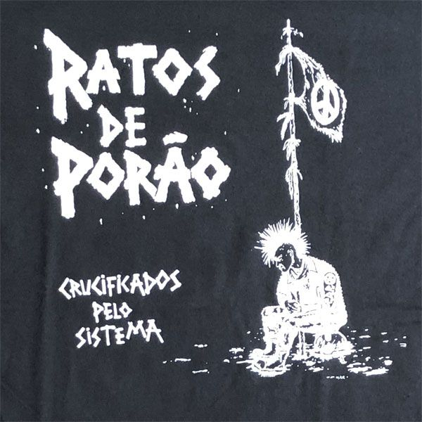 RATOS DE PORAO Tシャツ Crucificados pelo sistema オフィシャル!