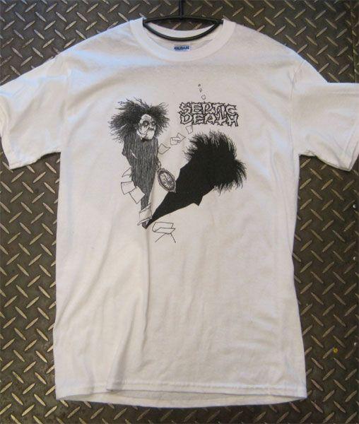 SEPTIC DEATH  Tシャツ 気違い