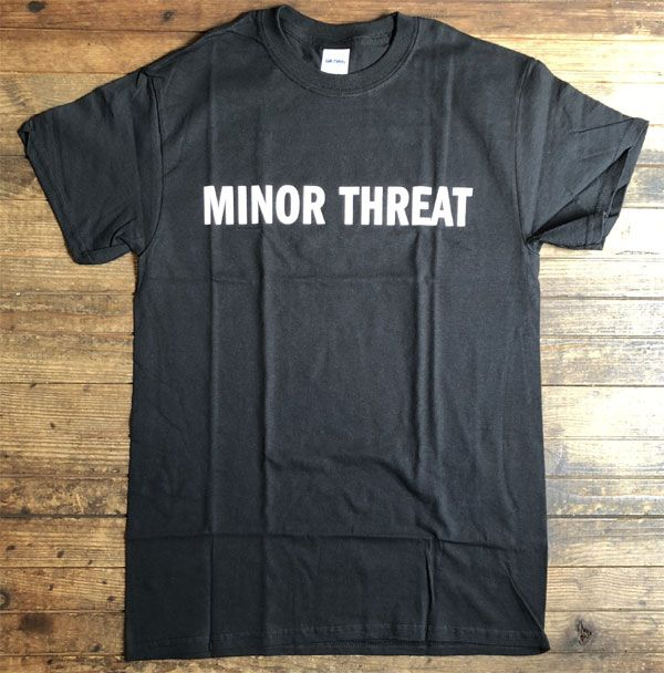 MINOR THREAT Tシャツ WE'RE JUST A MINOR THREAT
