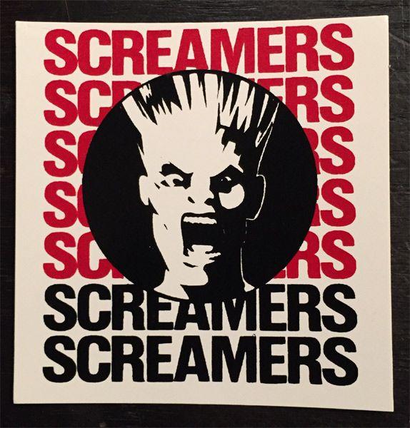 SCREAMERS ステッカー