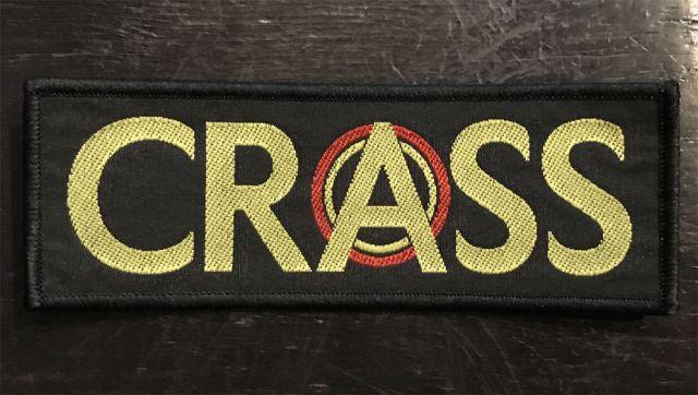 CRASS 刺繍ワッペン 1