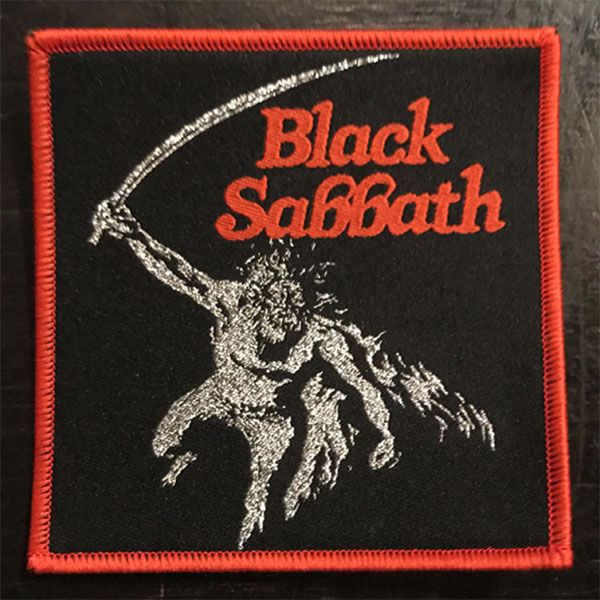 BLACK SABBATH 刺繍ワッペン PARANOID