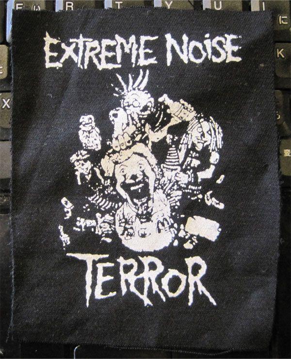 EXTREME NOISE TERROR PATCH donaldo