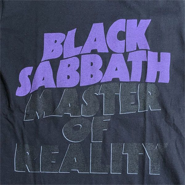 BLACK SABBATH Tシャツ MASTER OF REALITY オフィシャル