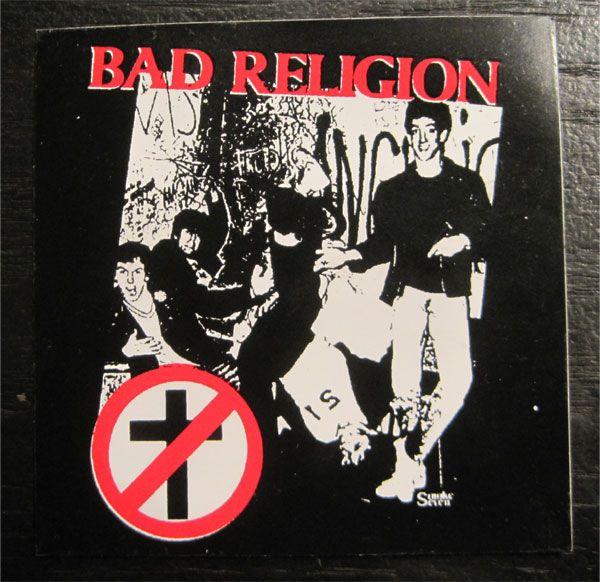 BAD RELIGION ステッカー PHOTO