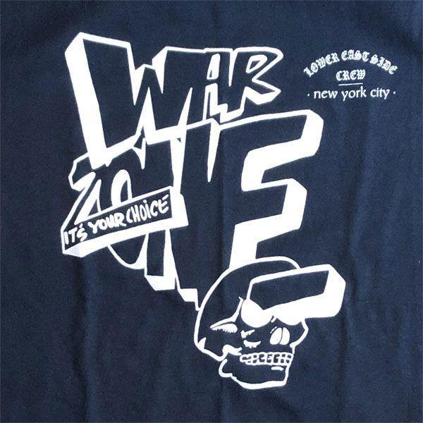 WAR ZONE Tシャツ IT'S YOUR CHOICE オフィシャル