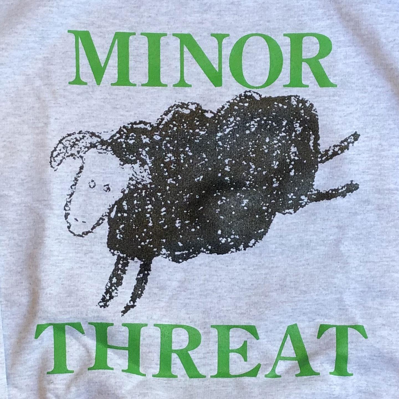 MINOR THREAT スウェット BLACK SHEEP