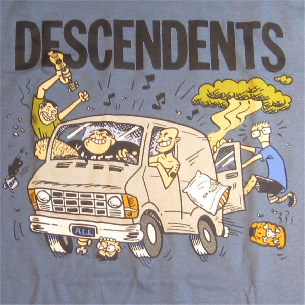 DESCENDENTS Tシャツ VAN