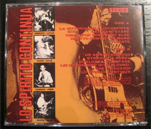 SALE! NEGAZIONE CD LO SPIRITO CONTINUA