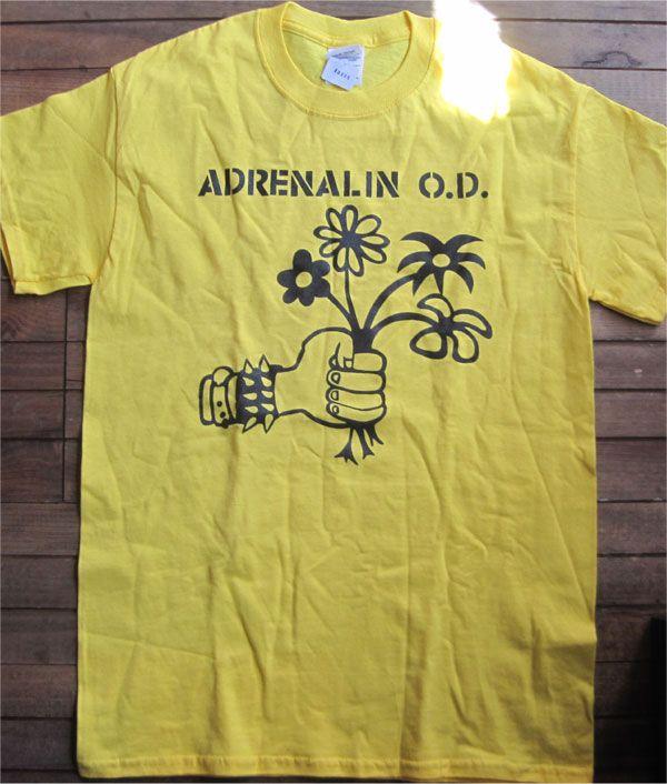 ADRENALIN O.D. Tシャツ FLOWER