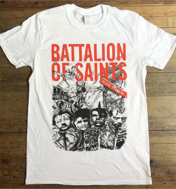 BATTALION OF SAINTS Tシャツ SECOND COMING 2