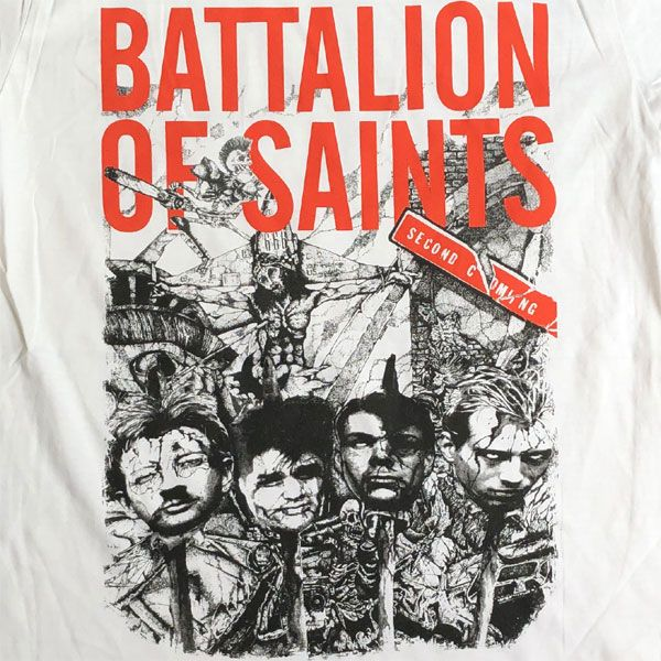 BATTALION OF SAINTS Tシャツ SECOND COMING 2