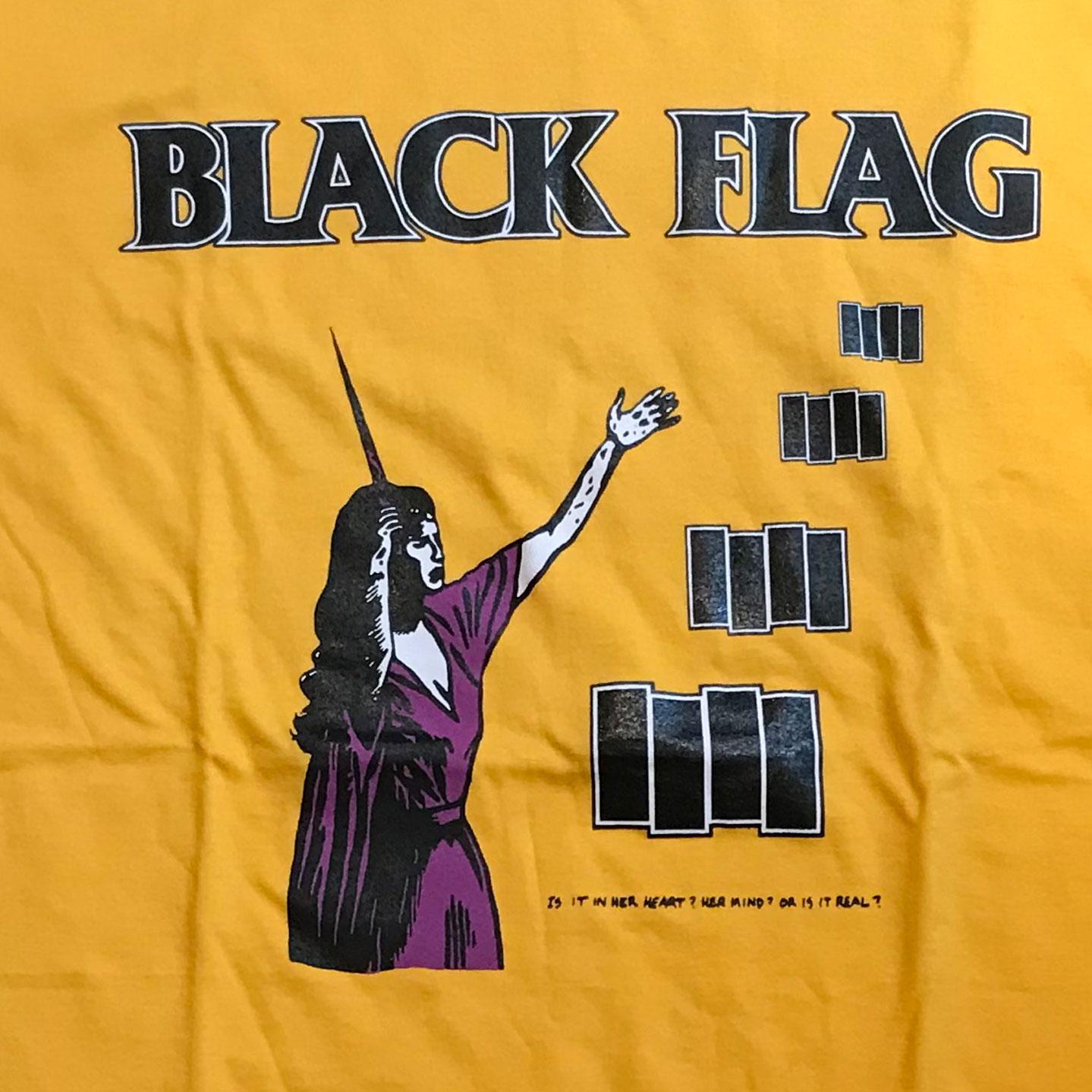 BLACK FLAG Tシャツ '86 TOUR IN MY HEAD 2
