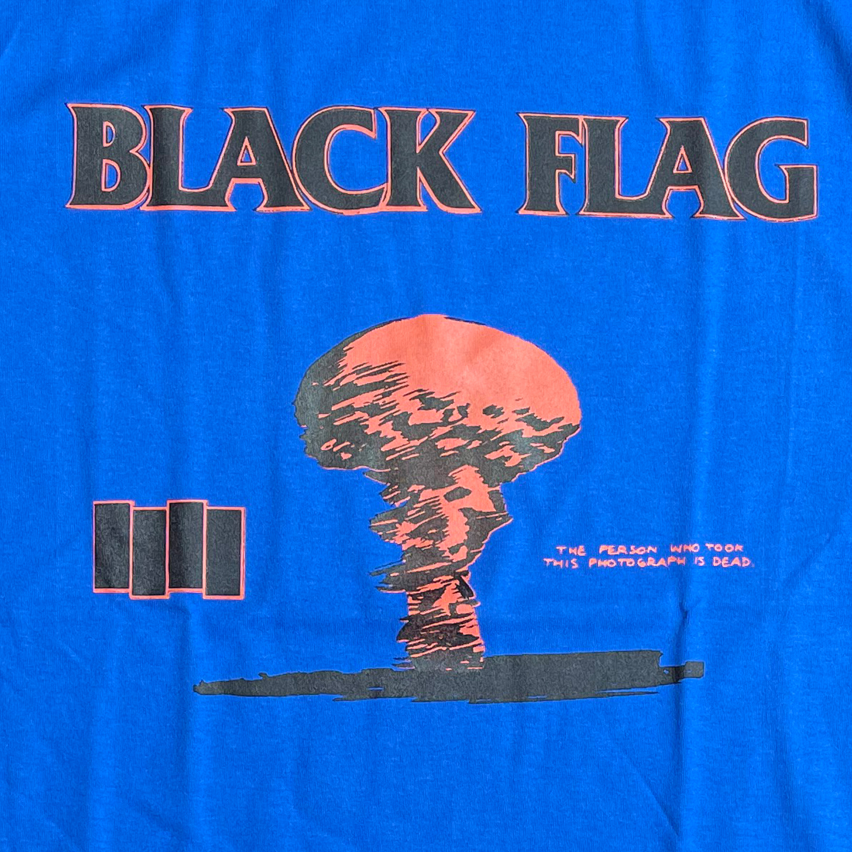 BLACK FLAG Tシャツ '86 TOUR IN MY HEAD 4