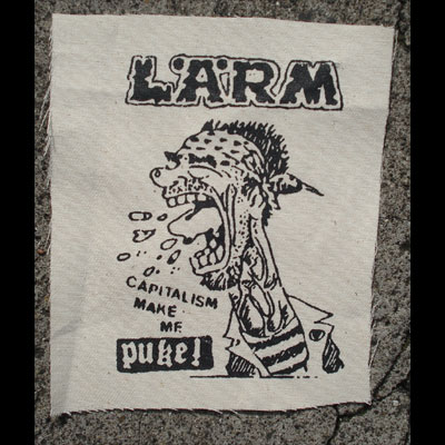 LARM puke! PATCH