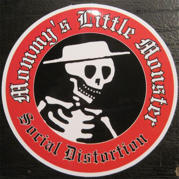 SOCIAL DISTORTION ステッカー MOMMY'S LITTLE MONSTER