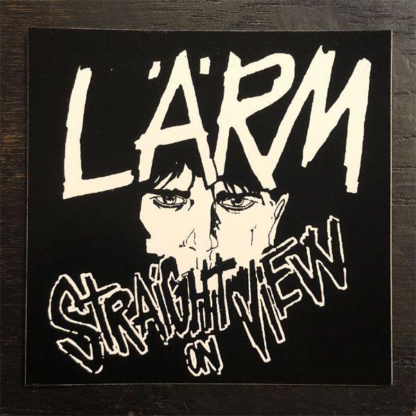 LARM ステッカー STRAIGHT ON VIEW