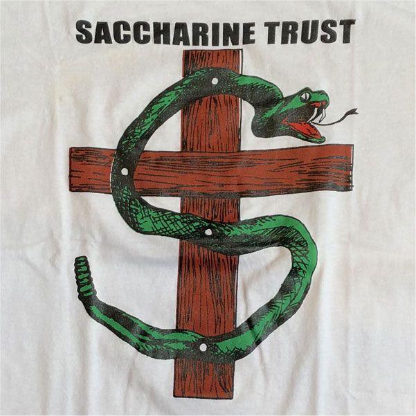 SACCHARINE TRUST Tシャツ PAGANICONS 3