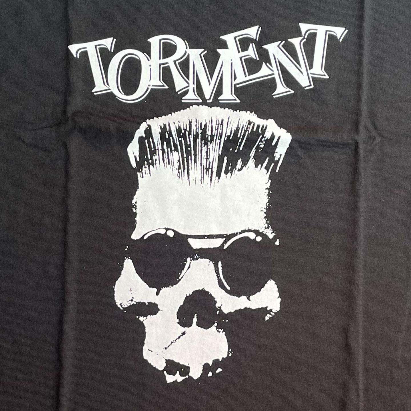 TORMENT Tシャツ SKULL