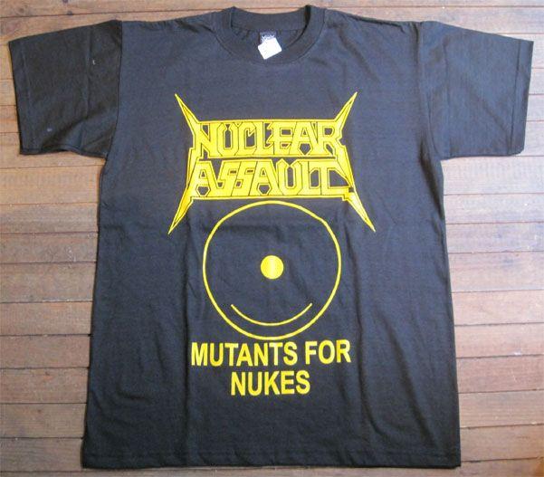 NUCLEAR ASSAULT Tシャツ MUTANTS FOR NUKE
