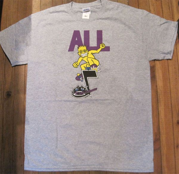 ALL Tシャツ SKATE
