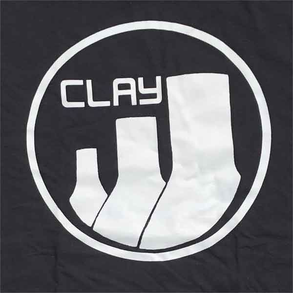 CLAY RECORDS Tシャツ