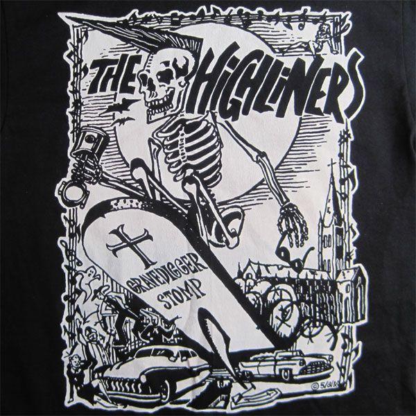 THE HIGHLINERS Tシャツ GRAVEDIGGER STOMP