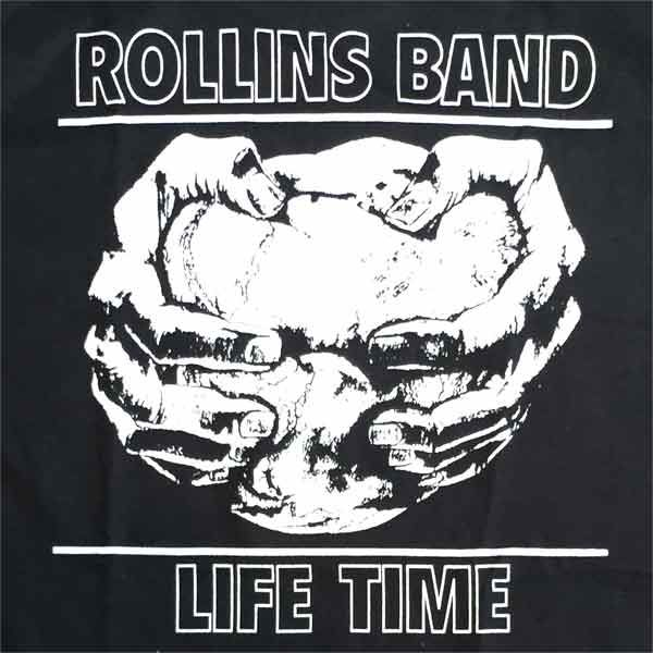 ROLLINS BAND Tシャツ LIFE TIME