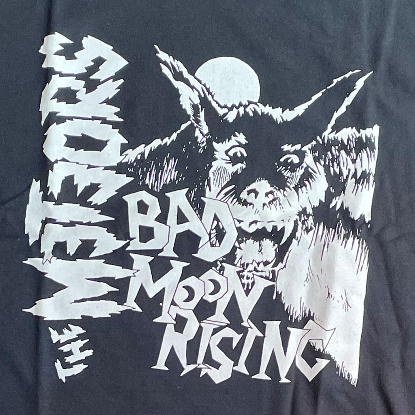 THE METEORS Tシャツ BAD MOON RISING