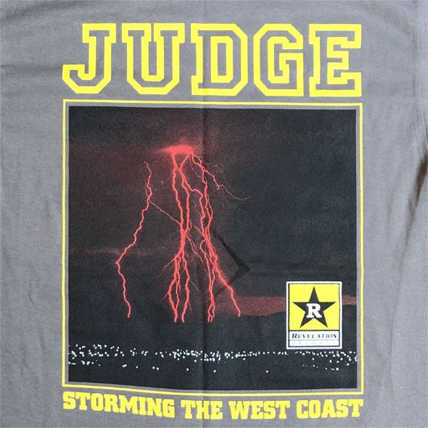 JUDGE Tシャツ STORMING THE WEST COAST