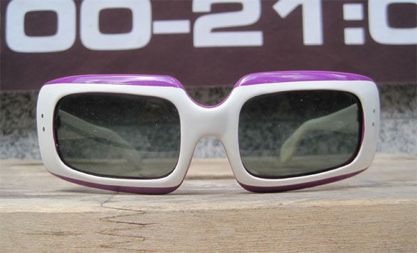 ITALY MADE VINTAGE  SUNGLASS SQUARE2