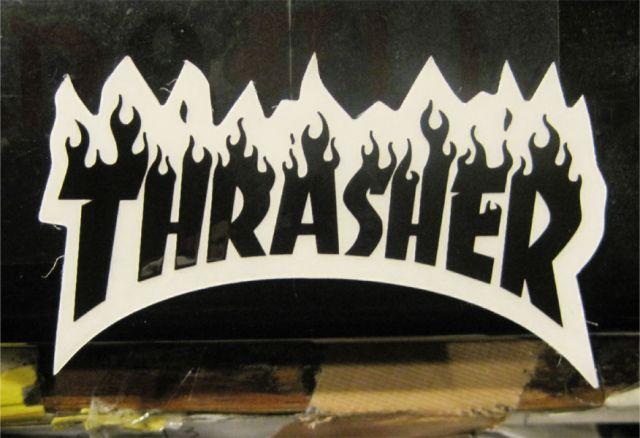 THRASHER ステッカー ロゴ