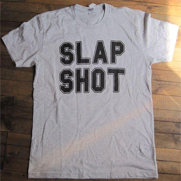 SLAP SHOT Tシャツ TWO SIDE PRINT