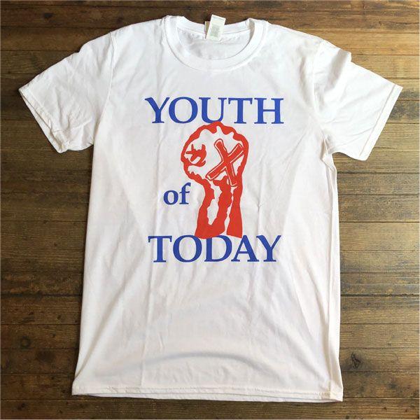 YOUTH OF TODAY Tシャツ FIST オフィシャル!